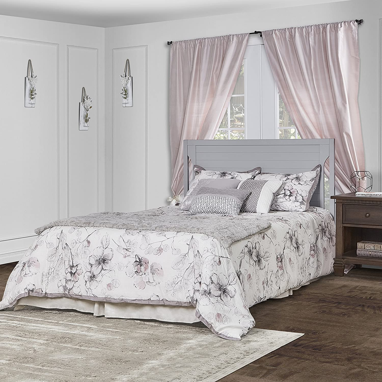 Dream On Me Cape Cod 5 in 1 Convertible Crib in Pebble Grey
