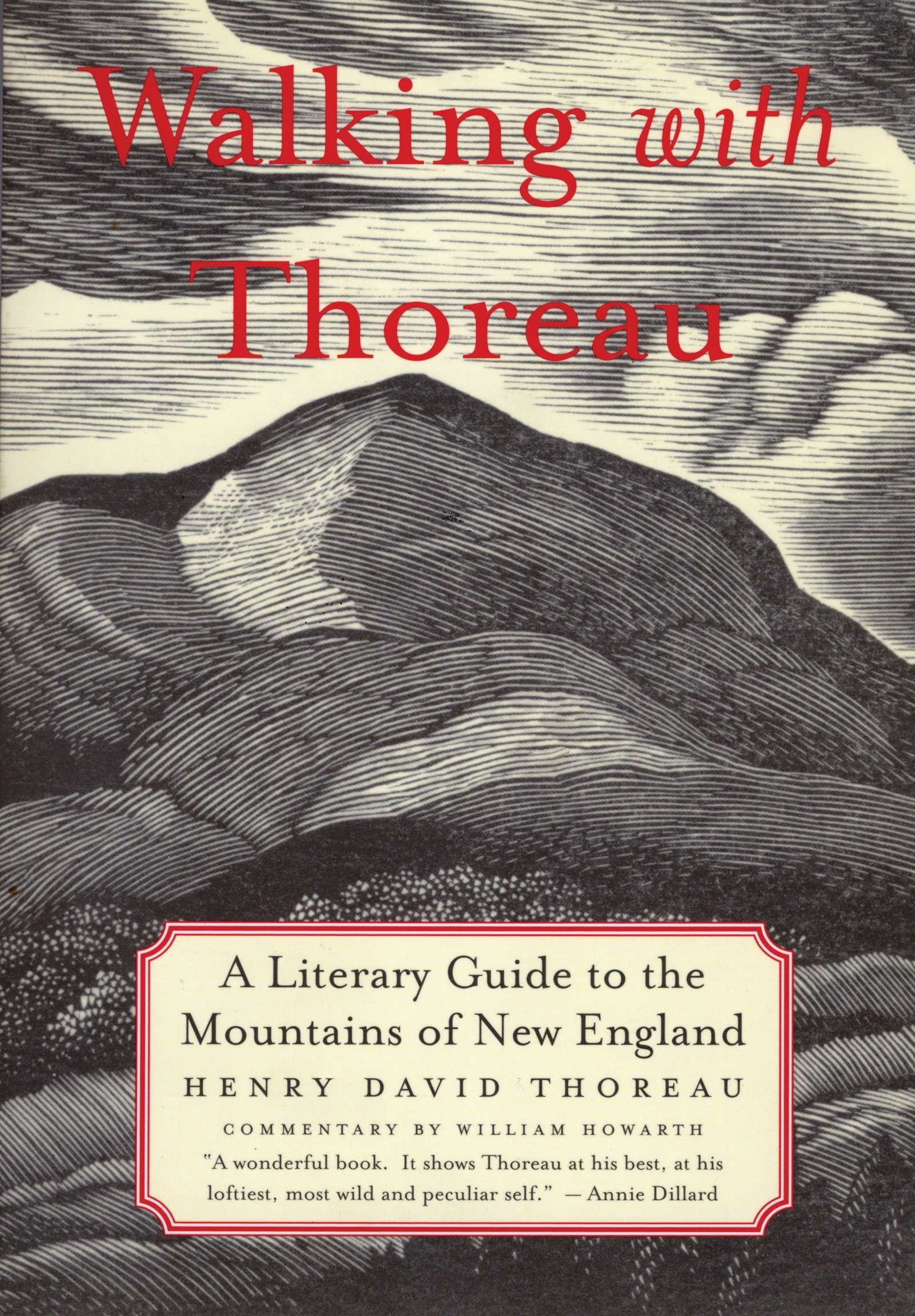 Read Online Walking with Thoreau: A Literary Guide to the New England Mountains PDF