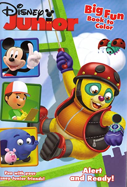 Disney Junior Special Agent OSO Mickey Friends Coloring And Activity Book 96 Pages Quot