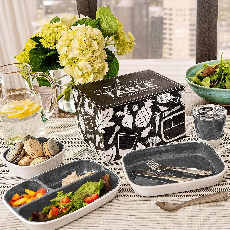 Grey Munchkin Grown Ups Table Set