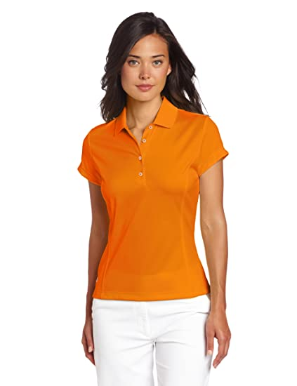 adidas Golf Women's Climalite Solid Polo