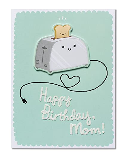 Image Unavailable Not Available For Color American Greetings Funny Toast Birthday Card Mom