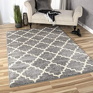 "product image for Orian Rugs American Heritage Tunnis Pewter Area Rug, 5'3"" x 7'6"", Grey"