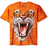 The Mountain Unisex Adult Roaring Tiger Face Animal T Shirt