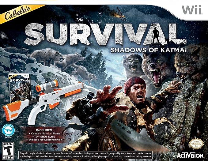 Activision Cabelas Survival - Juego (Wii + Top Shot Elite Gun, ENG): Amazon.es: Videojuegos