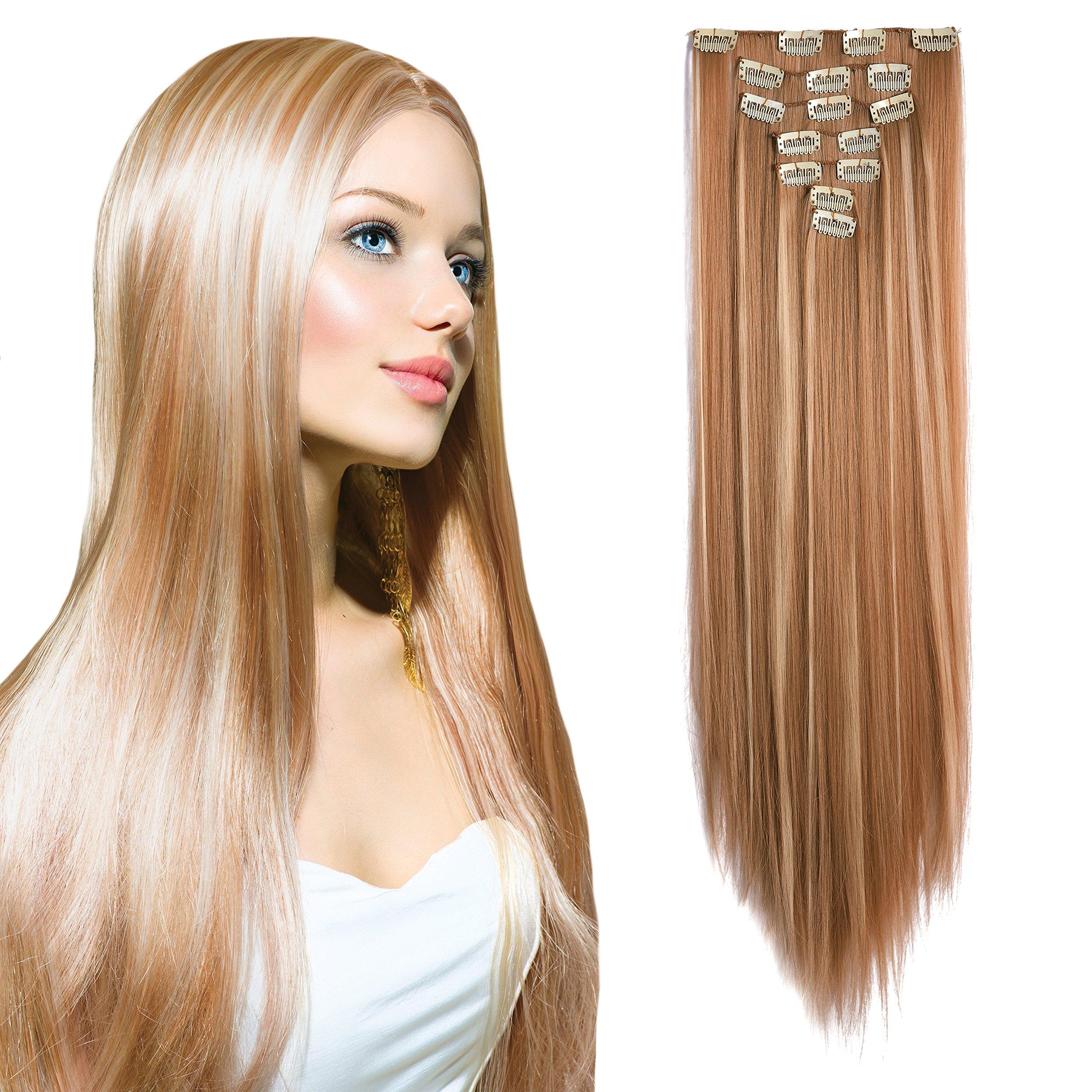 Amazon Onedor 20 Curly Or 24 Straight Full Head Kanekalon