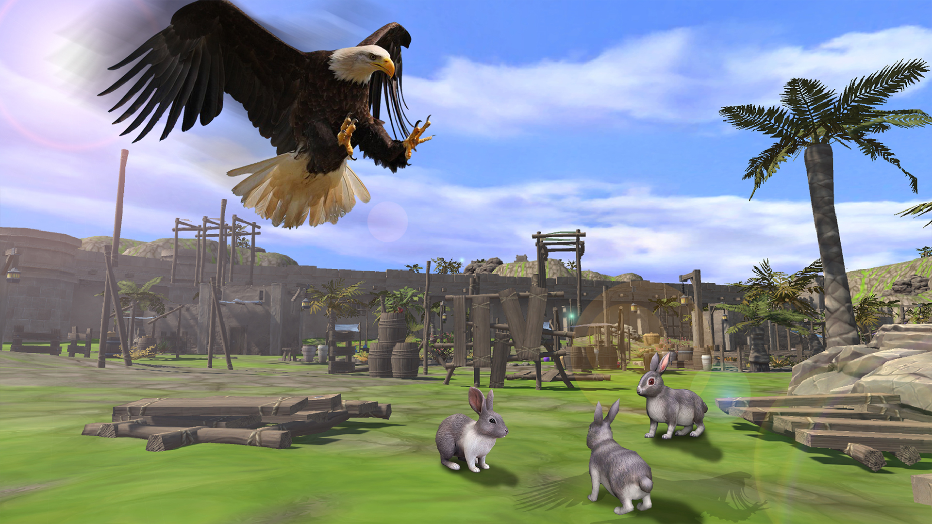 Amazon.com: Life of Golden Eagle Simulator 3D - Bird Simulator: Appstore for Android