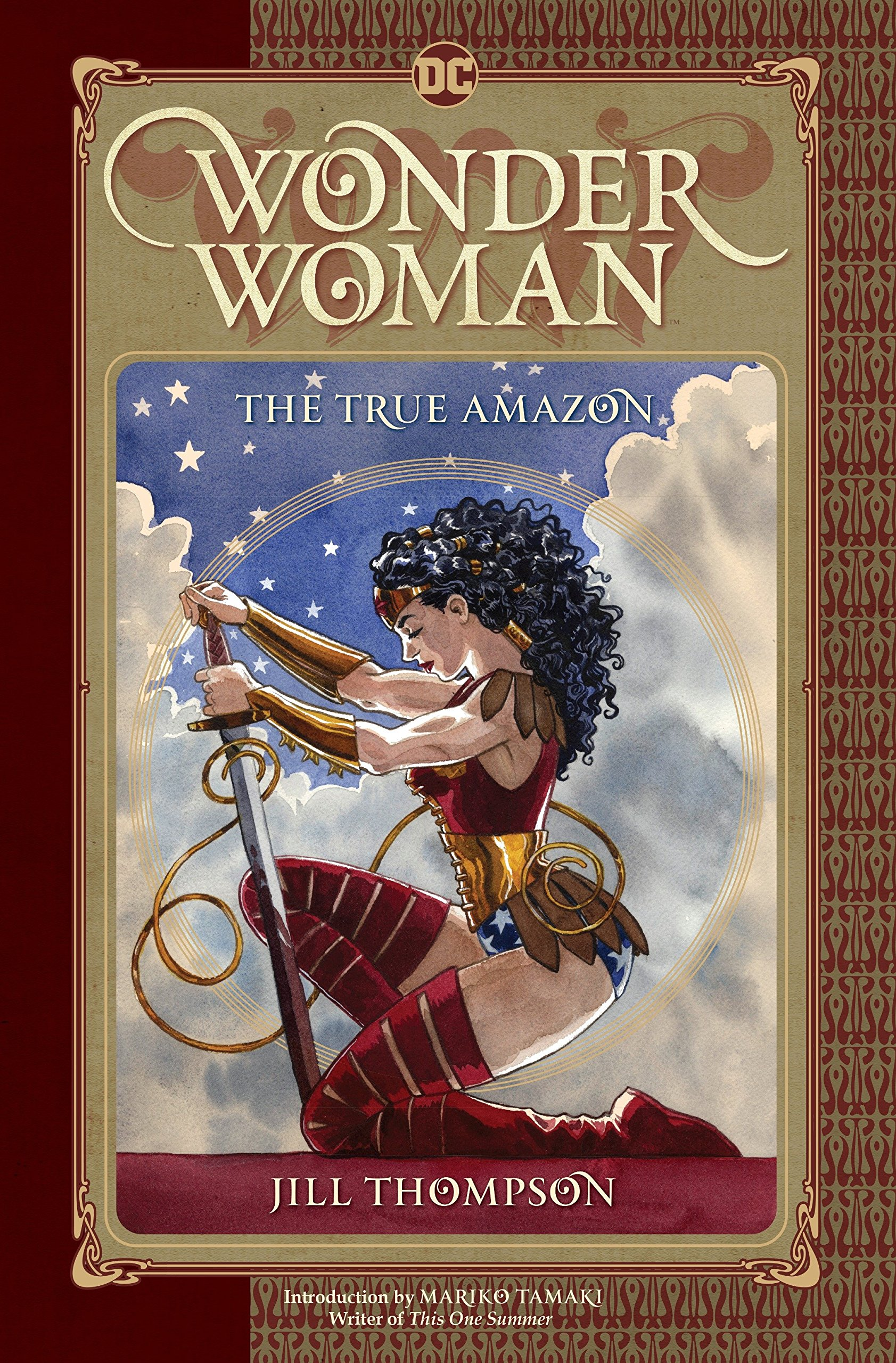 Wonder Woman: the True Amazon cover