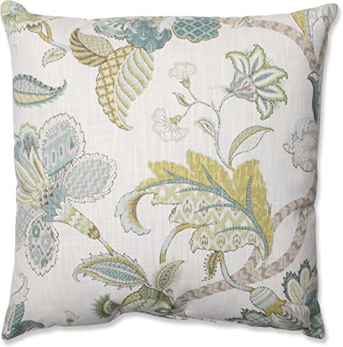 Pillow Perfect Finders Keepers Throw Pillow, 18-Inch, Peacock