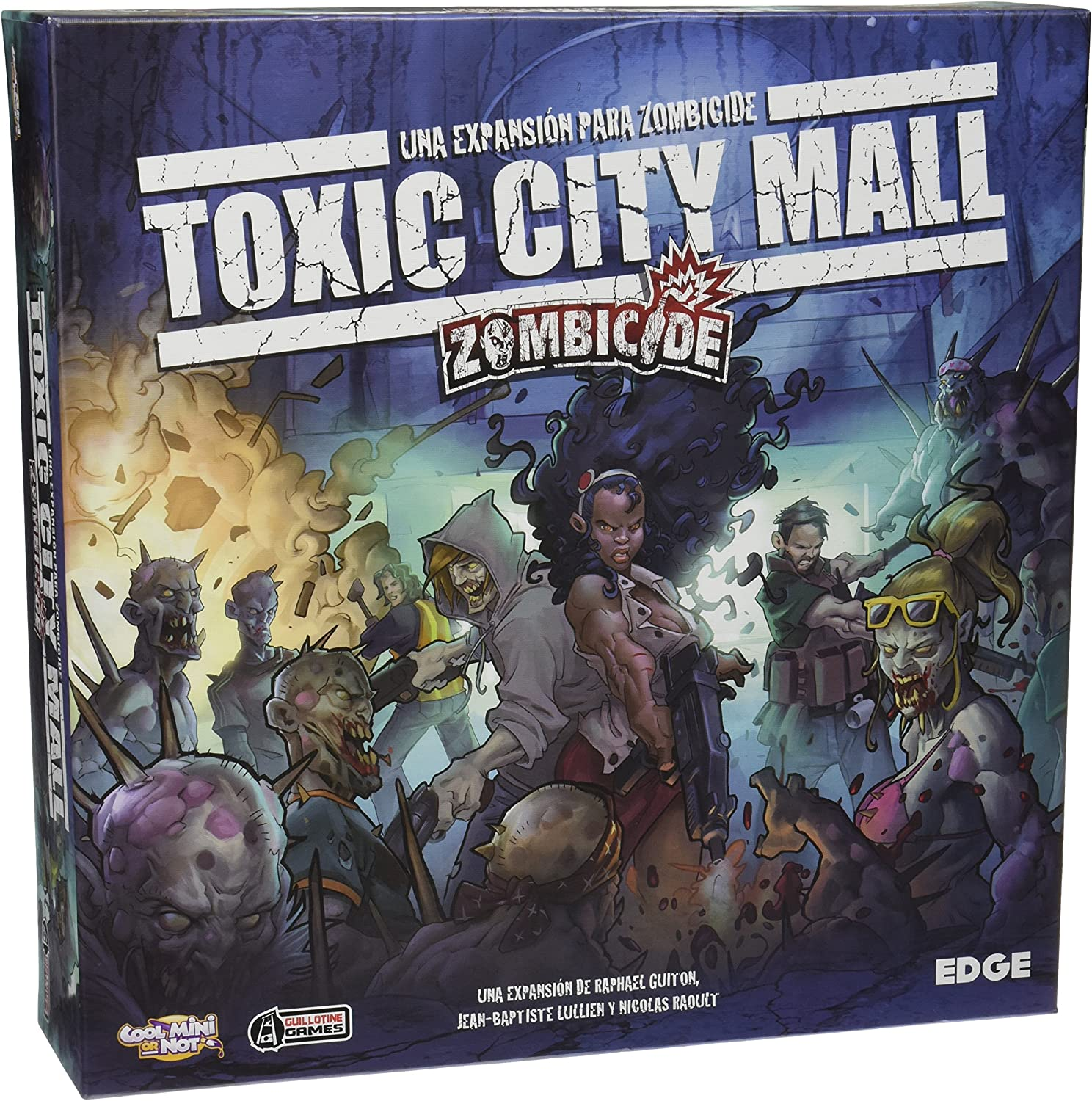 Edge Entertainment- Zombicide: Toxic City Mall, Multicolor (EDG0EDGZC02): Amazon.es: Juguetes y juegos