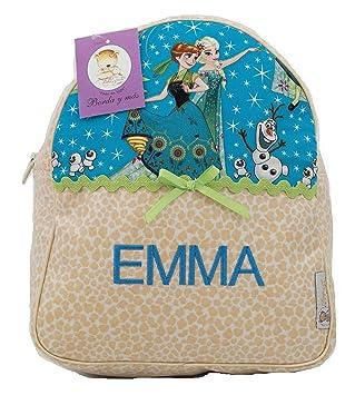 Mochila Infantil de Frozen Personalizada con Nombre en ...