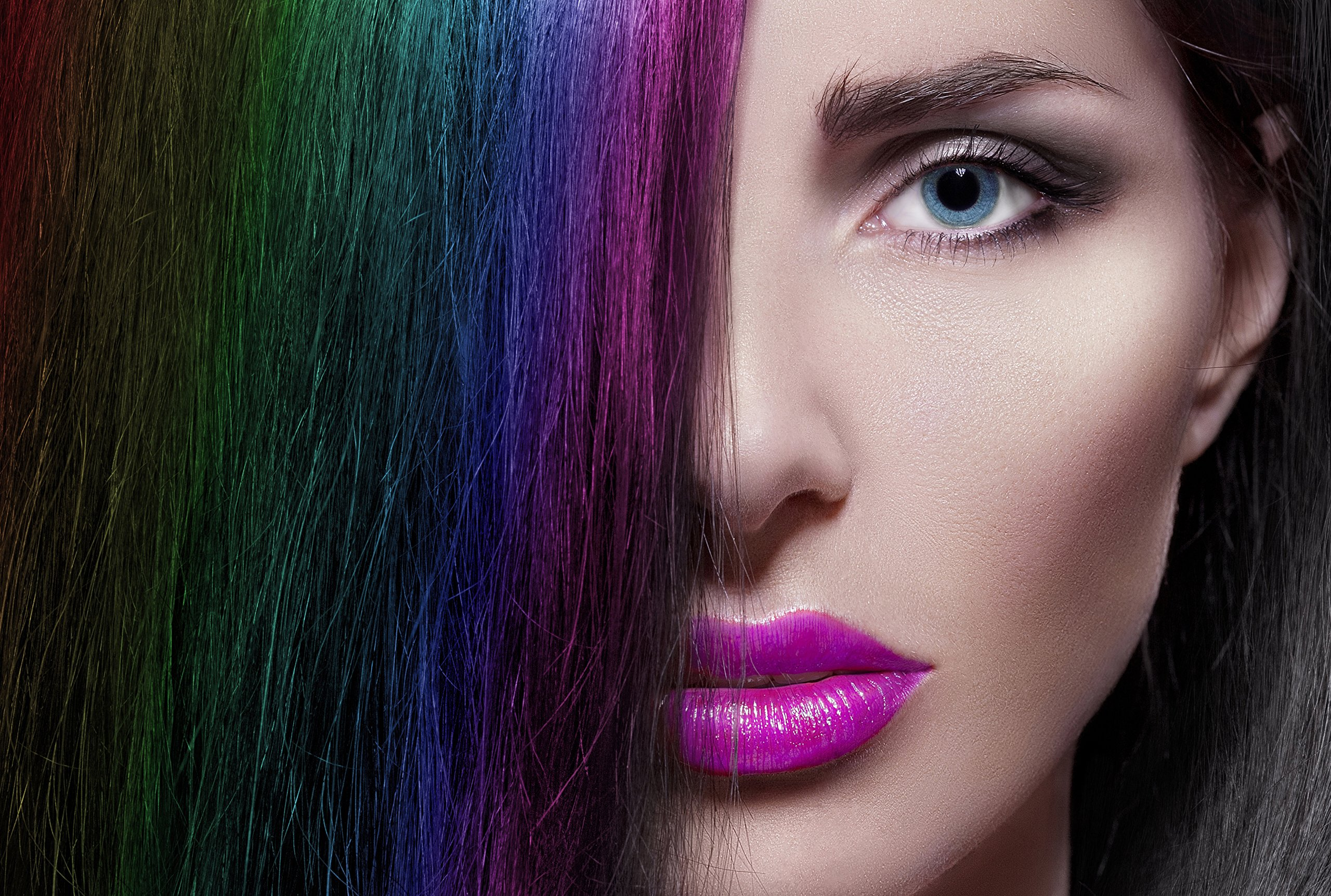 Hair Chalk 6 COUNT Vibrant, Long Lasting Temporary Hair Color Cream Pinky Petals