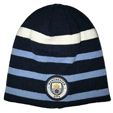 Icon Sports Manchester City Pom Foldover Beanie at Amazon Men s ... ffd881b12