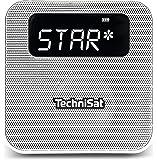 TechniSat DIGITRADIO Flex Digital-Radio mit DAB+, UKW, Favoritenspeicher, Bluetooth, Steckdosenradio, Weiß