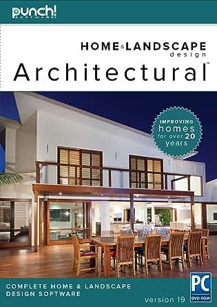 Punch Home Landscape Design Architectural Series V19 Home Design Software For