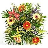 """Blumenstrauß""""Sommer in Frankreich"""" VERSANDKOSTENFREI Ø 40cm + kostenlose Glückwunschkarte"""