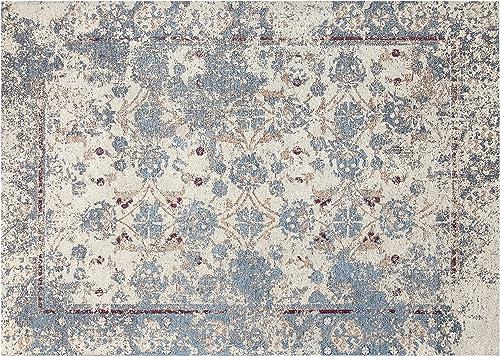 Chesapeake Chenille Nebula Pattern Vintage Area Rug