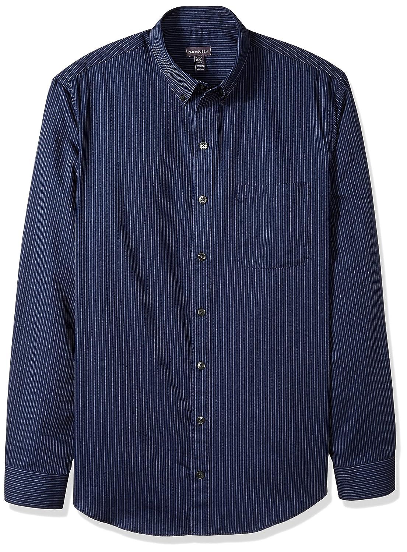 Van Heusen Men's Big and Tall Traveler Stretch Non Iron Long Sleeve Shirt 50W5784