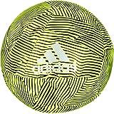 X Glider Football - Size 5 - Solar Yellow/Black/Silver Met