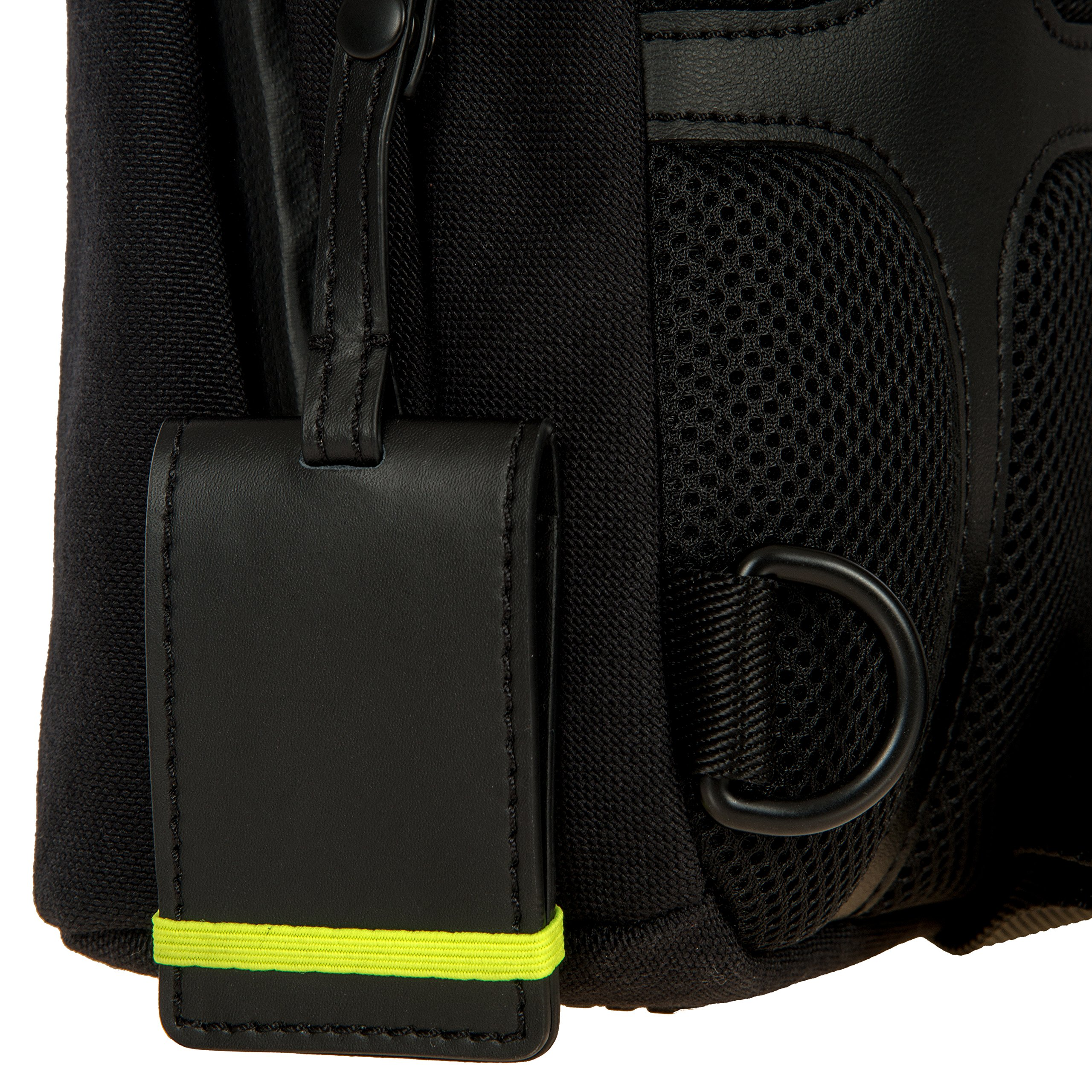 Bric's Men's Moleskine Bag Sling Backpack, Black, One Size by Bric's (Image #6)