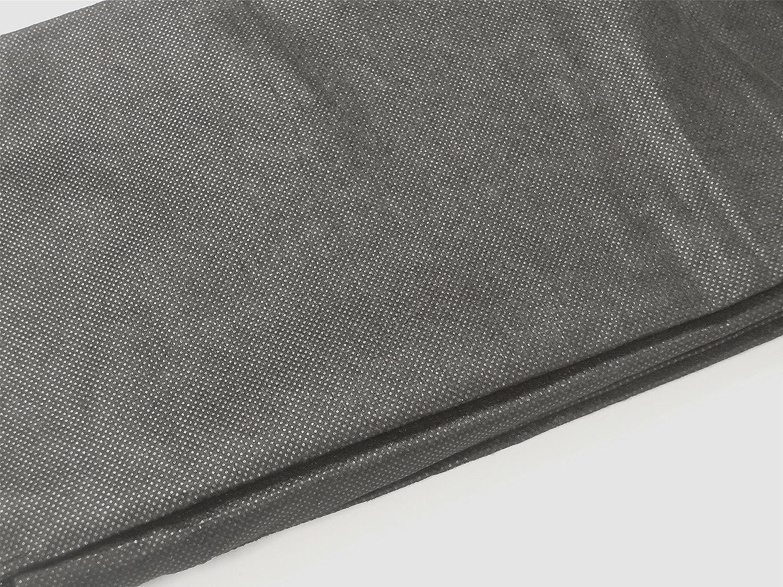 B/ügelvlies schwarz 250x100cm
