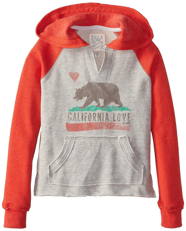 9462dd32b Amazon.com: Billabong Big Girls' Day Away Pullover Sweatshirt, Rio Red,  Large: Clothing
