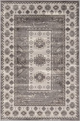 Linon Vintage Collection Buharra Synthetic Rug