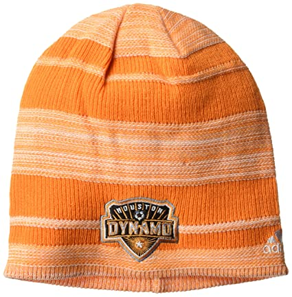 6886188236030 MLS Houston Dynamo Adult Men MLS SP17 Fan Wear Heathered Cuffless Beanie