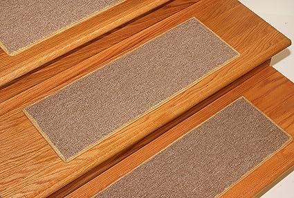 Dog Assist Carpet Stair Treads   Gold   (8u0026quot; X 23u0026quot;) Set
