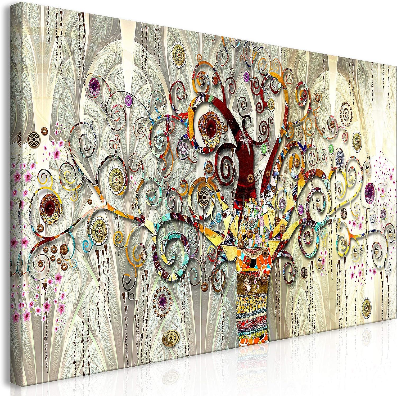 murando Cuadro Mega XXXL Gustav Klimt 160x80 cm Cuadro en Lienzo en Tamano XXL Estampado Grande Gigante Imagen para Montar por uno Mismo Decoración De Pared Impresión DIY Abstracto l-A-0033-ak-e