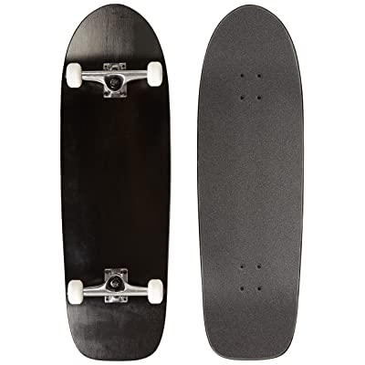 "Moose Old School Complete Skateboard (Black, 10"" x 33"") : Standard Skateboards : Sports & Outdoors"