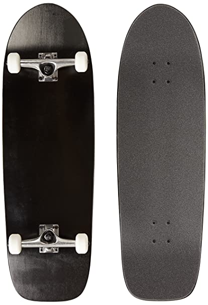 MOOSE Skateboards OLD SCHOOL 10 x 30 BLACK Blank DECK