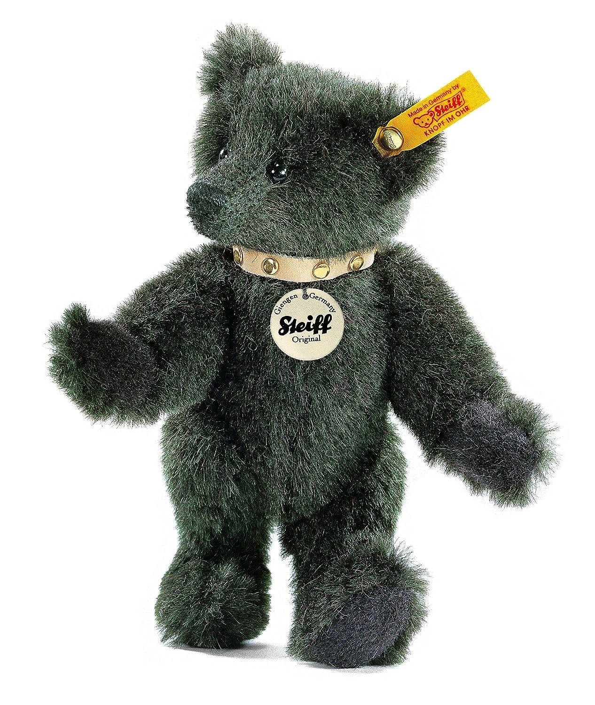 Steiff 039188 - Teddybär Alpaca schwarz   grün