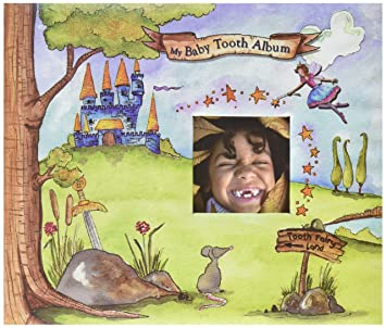 Tooth Fairy Edition Baby Tooth Album Baby Tooth Scrapbook Boy