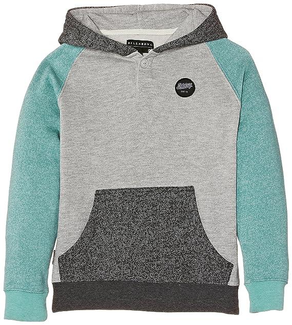 Billabong Balance Pull Over - Sudadera de punto para niño, color gris (grey heather), talla 16 años: Amazon.es: Ropa y accesorios