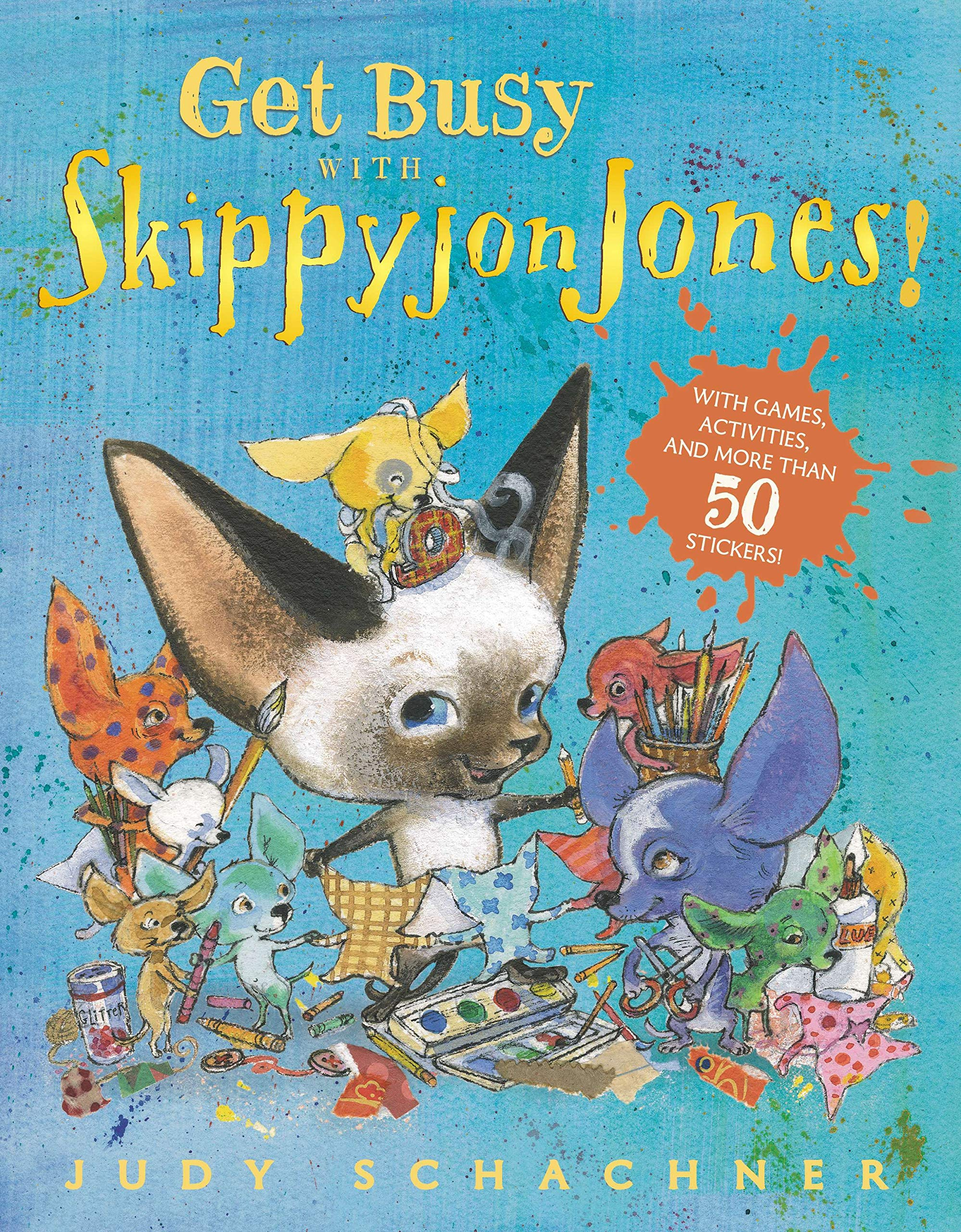 Skippyjon Jones, Lost in Spice by Judy Schachner, Hardcover ... | 2560x1998