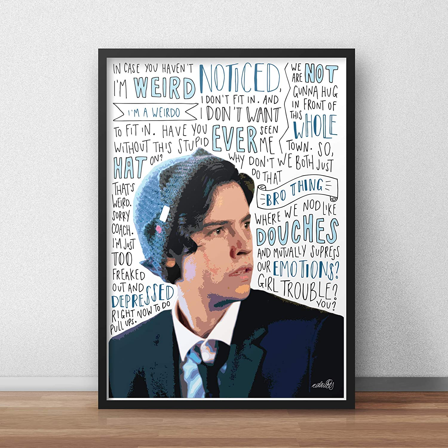 Cole Sprouse Custom Silk Poster Wall Decor