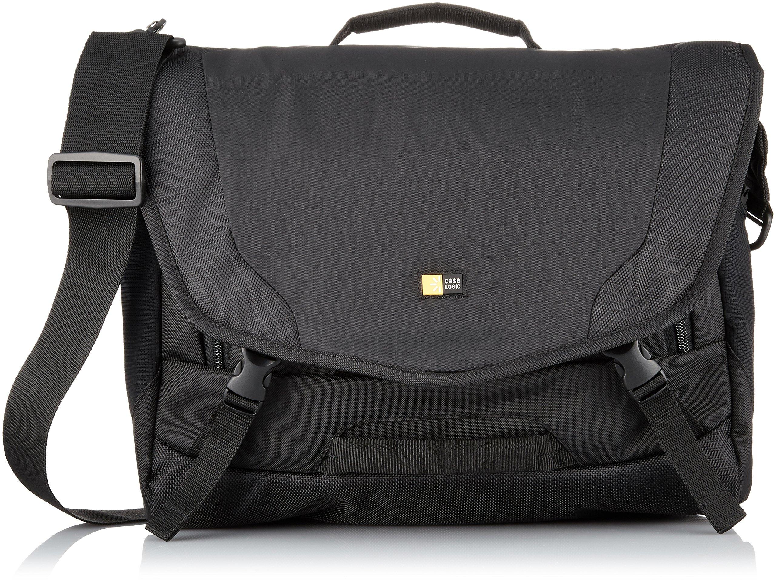 Case Logic DSM-103 Large DSLR with iPad Messenger Bag (Black)