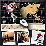 Scratch Off World Map Poster – with Country