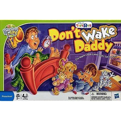 Milton Bradley Don't Wake Daddy Game: Toys & Games