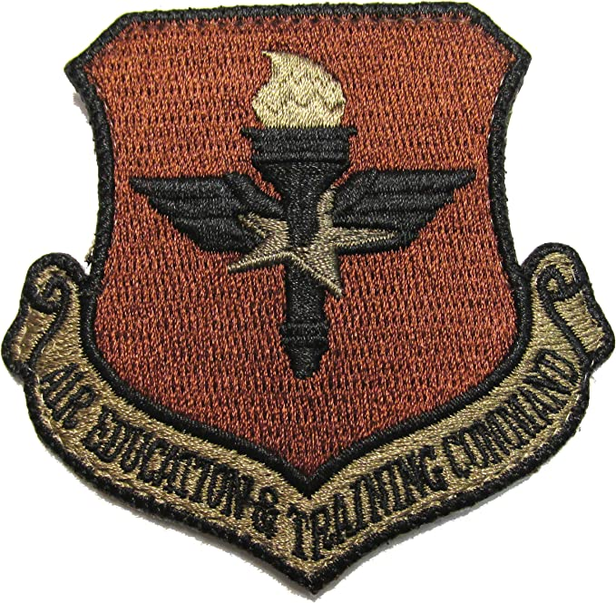 Air Education & Training Command OCP Patch Spice Brown