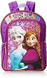 Disney Frozen Anna and Elsa Glitter Flowers Backpack