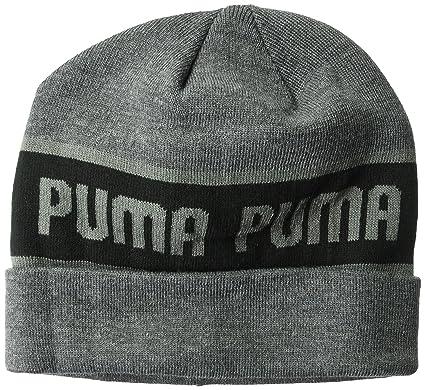 ff31d26afd0 PUMA Mens Evercat Beanie Beanie Hat - Black - One Size  Amazon.com ...