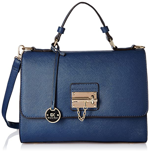 Diana Korr Women's Handbag (Blue) (DK28HBLU) Women's Hobos and Shoulder Bags at amazon