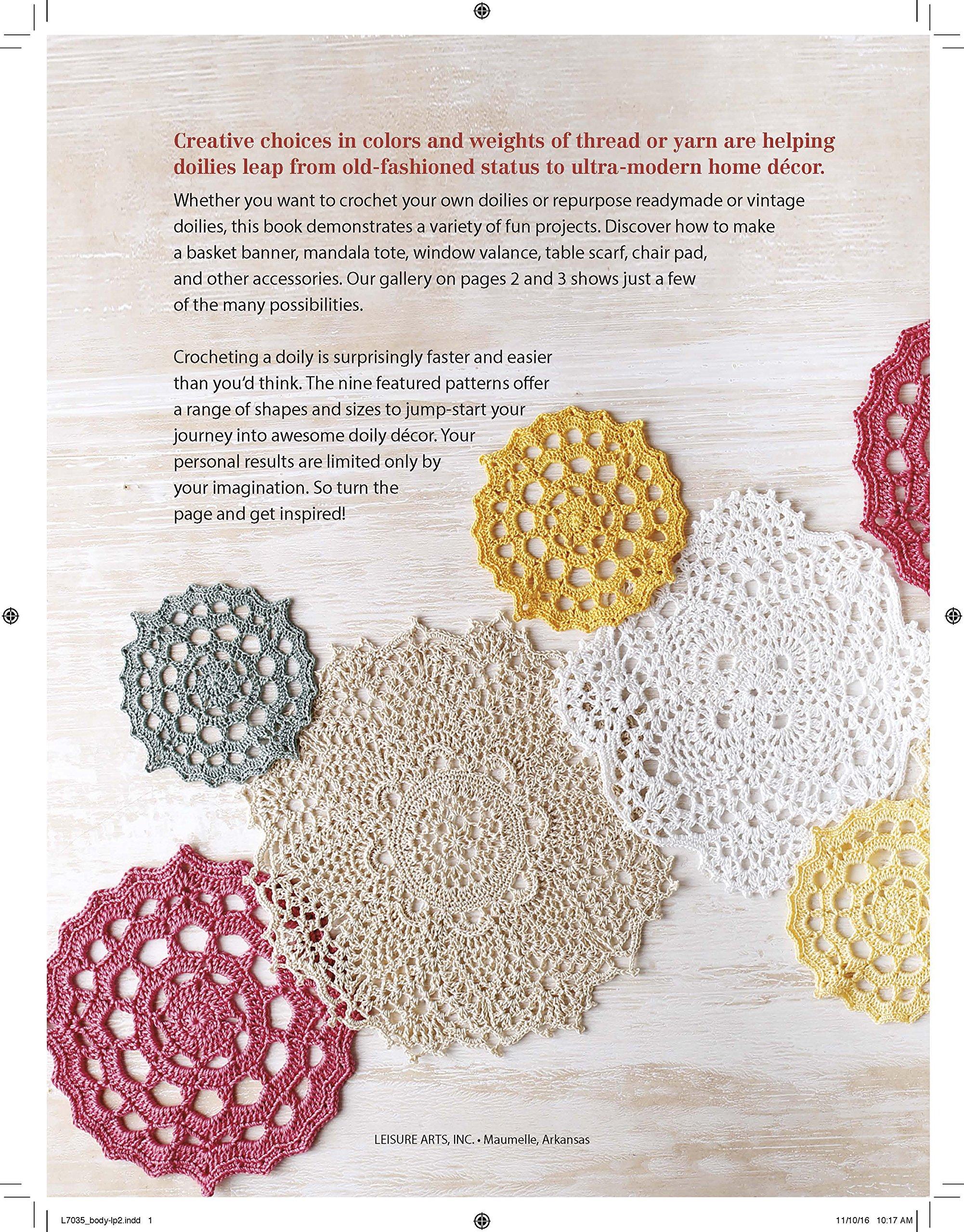 Doilies Updated | Crochet | Leisure Arts (7035): Leisure Arts:  9781464763427: Amazon.com: Books
