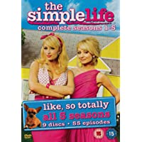 The Simple Life - Complete Seasons 1-5 [DVD]