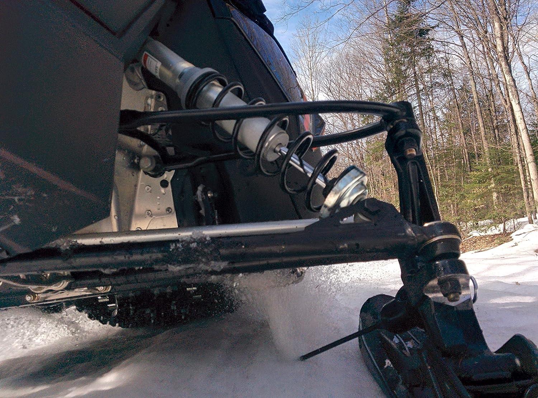 RT-PRO Snowmobile Ice Scratcher Motoneige Universal Ski Mount Kit reversable Racloir Kingstream