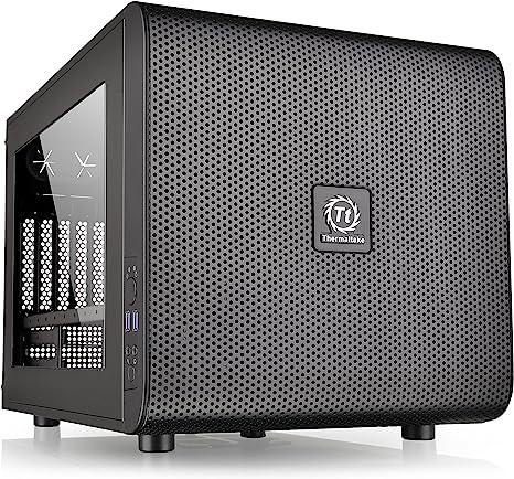 Thermaltake Core V21 Cubo Negro carcasa de ordenador - Caja de ordenador (Cubo, SPCC, Micro-ATX,Mini-ITX, Negro, 18,5 cm, 35 cm): Amazon.es: Bricolaje y herramientas
