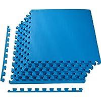 BalanceFrom Puzzle Ejercicio Mat con Espuma EVA Azulejos de Enclavamiento de Alta Calidad