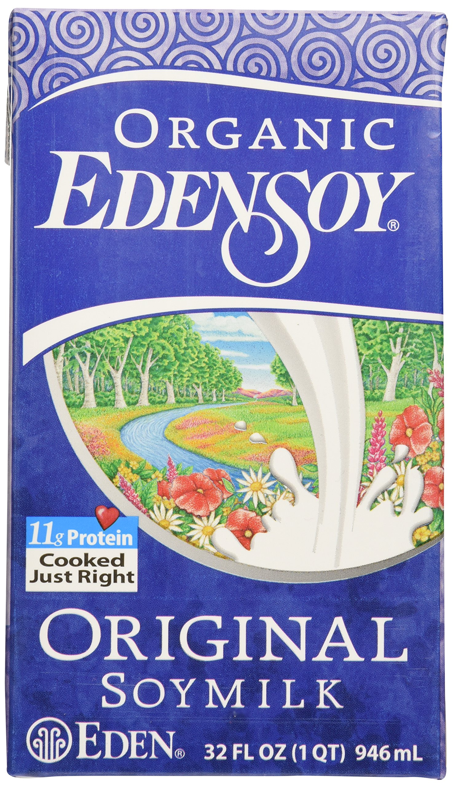 Eden Foods, Soy Milk Original Organic, 32 Fl Oz by Eden (Image #1)
